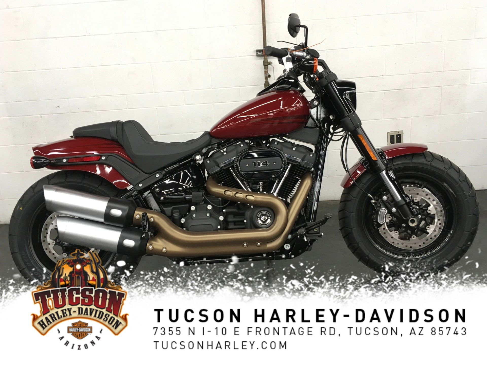 New 2020 Harley-Davidson Fat Bob 114 in Tucson #HD019597 ...