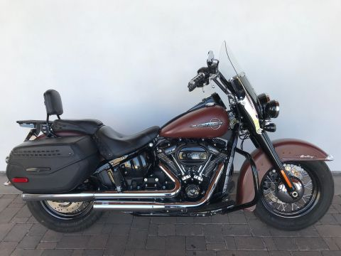 Pre-Owned 2018 Harley-Davidson Softail Heritage Classic 114 FLHCS